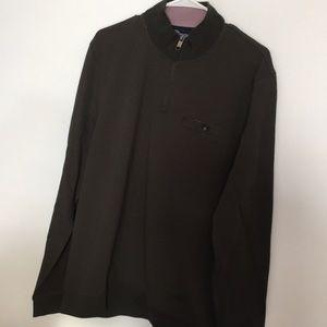 Men's 1/3 zip shirt